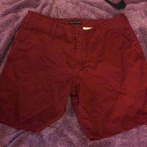 Express Men's Khaki Shorts